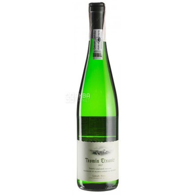 Txakoli, Txomin Etxaniz, Вино белое сухое, 0,75 л