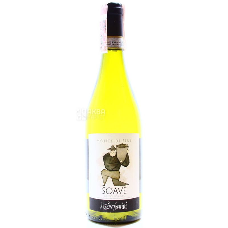 Monte di Fice 2015, I Stefanini, dry white wine, 0.75 l