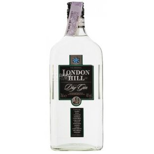 London Hill Dry Gin, Gin, 0.7 L
