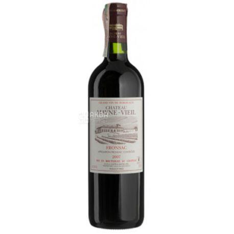 Chateau Mayne-Vieil, Dry red wine, 0.75 L