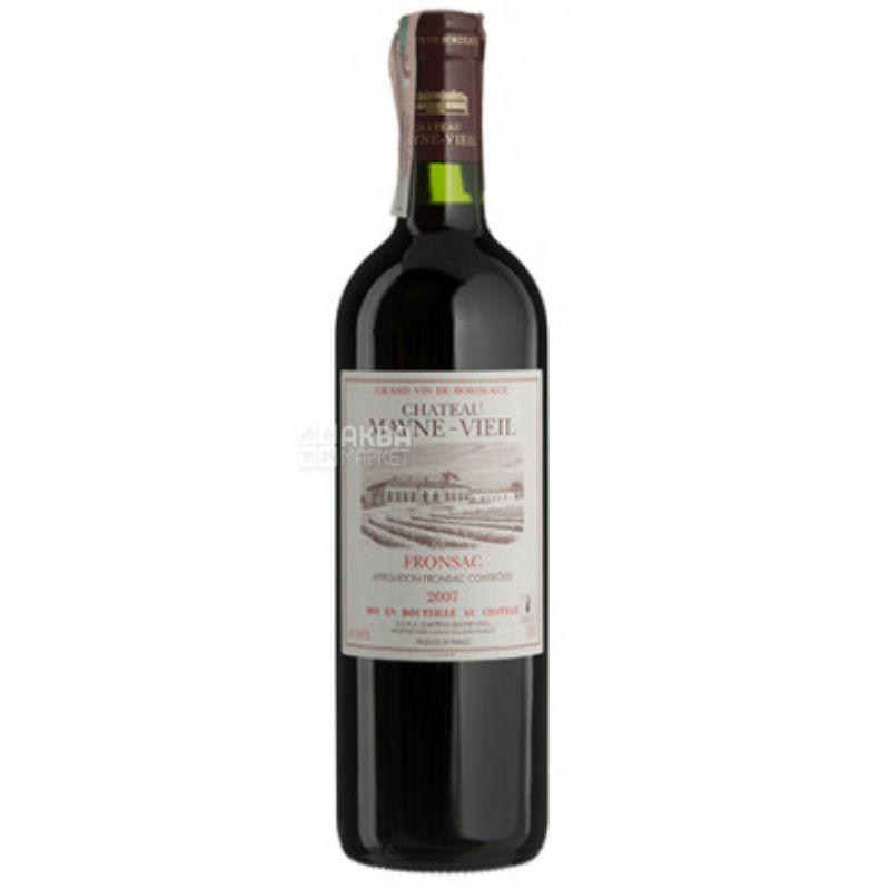 Chateau Mayne-Vieil, Вино червоне сухе, 0,75 л
