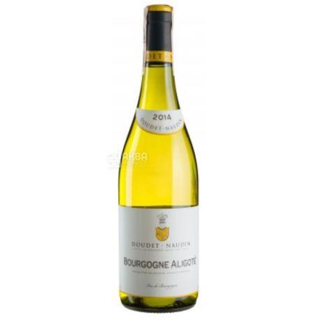 Bourgogne Aligote, Doudet Naudin, Вино белое сухое, 0,75 л