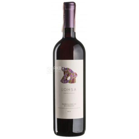Lohsa Morellino di Scansano 2016, Poliziano, Вино красное сухое, 0,75 л