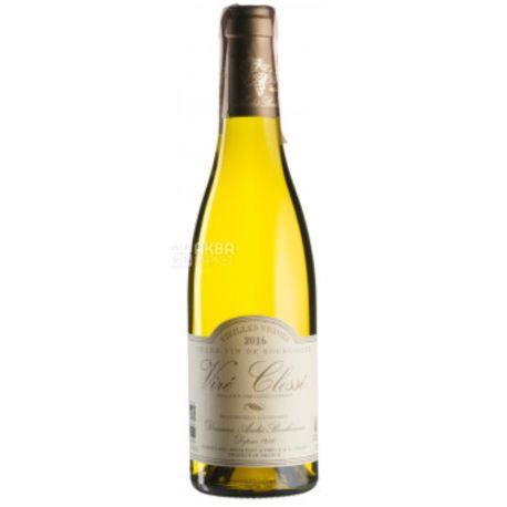 Vire Clesse Vieilles Vignes 2016, Andre Bonhomme Estate, Вино белое сухое, 0.375 л