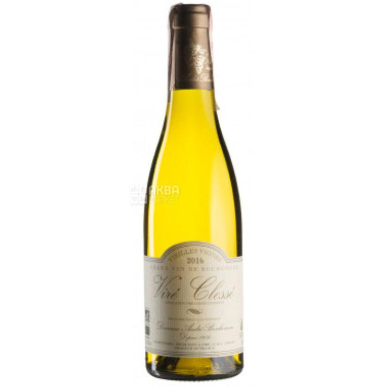 Vire Clesse Vieilles Vignes 2016, Domaine Andre Bonhomme, Вино белое сухое, 0,375 л