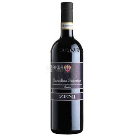 Zeni Bardolino Superiore Classico, Вино красное сухое, 0,75 л