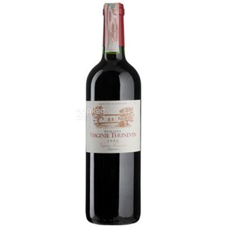 Thunevin, Domaine Virginie 2006, Вино красное сухое, 0,75 л