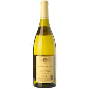 Louis Jadot, Bourgogne Aligote 2017, Вино біле сухе, 0,75 л
