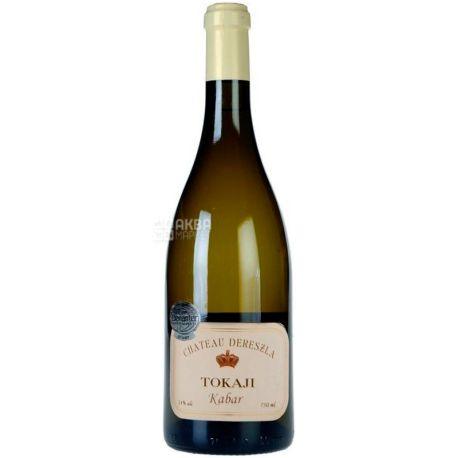 Chateau Dereszla Kabar, Вино белое сухое, 0,75 л