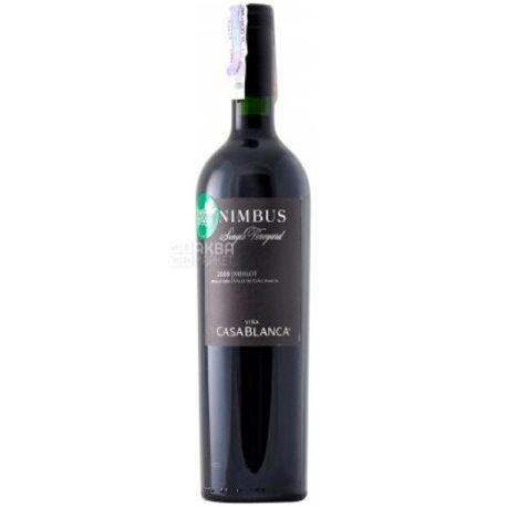 Casablanca Merlot Nimbus, Вино червоне сухе, 0,75 л