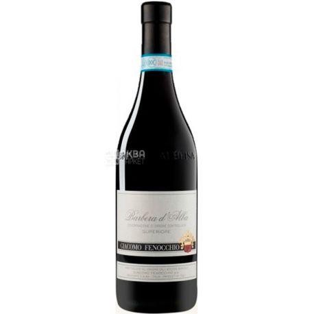 Giacomo Fenocchio Barbera d'Alba Superiore 2017, Вино красное сухое, 0,75 л