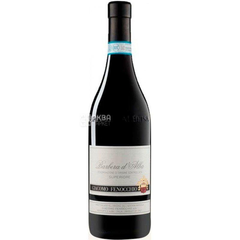 Barbera d'Alba Superiore 2017, Giacomo Fenocchio, Red Dry Wine, 0.75 L