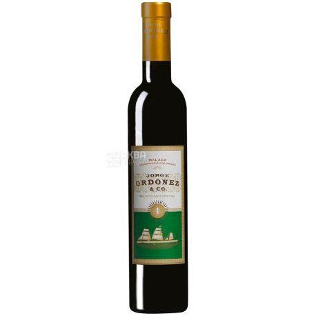 Jorge Ordonez & Co, Вино белое сладкое, Seleccion Especial №1, 2015, 0,375 л