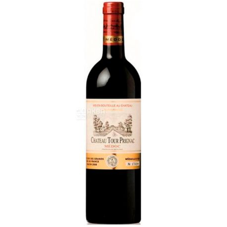 Chateau Tour Prignac, Вино красное сухое, 0,75 л