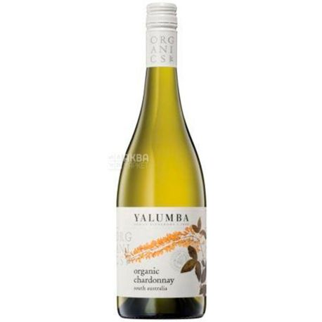 Yalumba, Вино белое сухое, Chardonnay Organic, 2016, 0,75 л