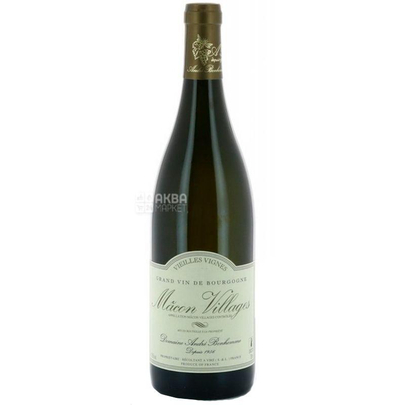 Domaine Andre Bonhomme, Вино белое сухое, Macon Villages Vieilles Vignes, 2017, 750 мл