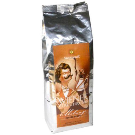 Sonnentor, Кофе органический зерновой, Меланж-Искушение Вены, 500 г