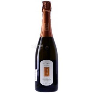 Adriano Adami, Ігристе біле екстра-сухе вино, Dei Casel, 0,75 л