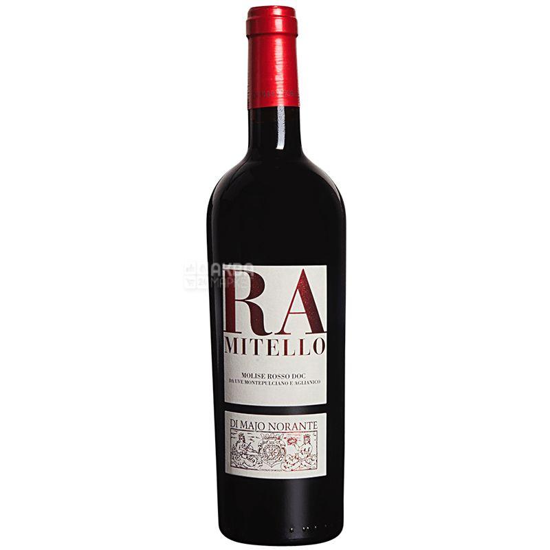 Di Majo Norante, Вино красное сухое, Ramitello, 0,75 л