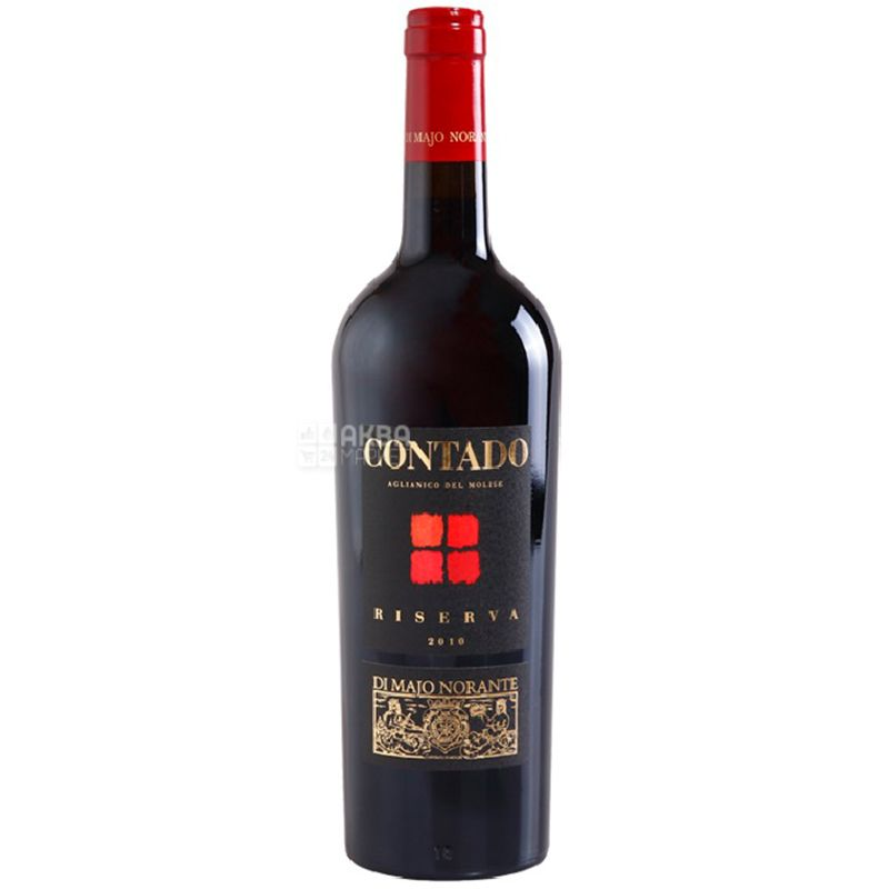 Di Majo Norante, Contado Riserva, Вино красное сухое, 0,75 л