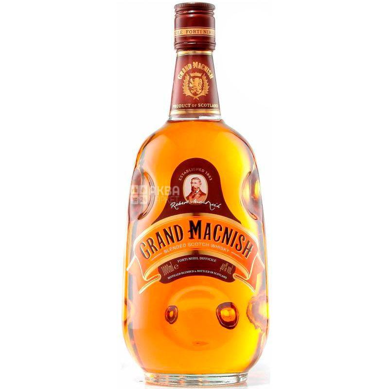Grand MacNish, Виски, 1 л