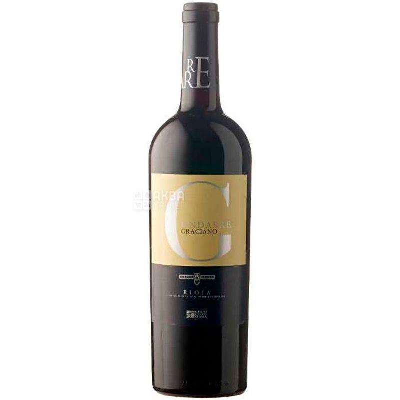Bodegas Olarra, Вино красное сухое, Ondarre Graciano, 0,75 л