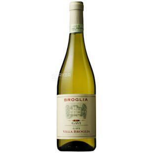 Broglia, Вино белое сухое, Gavi di Gavi Villa, 0,75 л