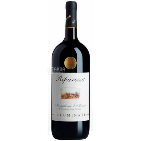 Illuminati Dino Riparosso, Вино красное сухое, 1,5 л