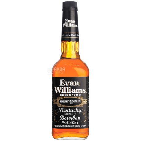 Evan Williams 4yo, Бурбон, виски, 0,75 л