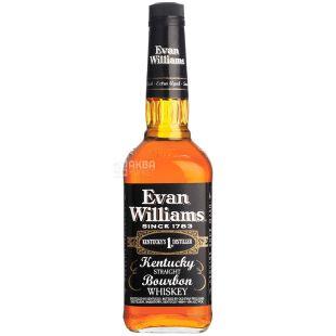 Evan Williams 4yo, Бурбон, віскі, 0,75 л