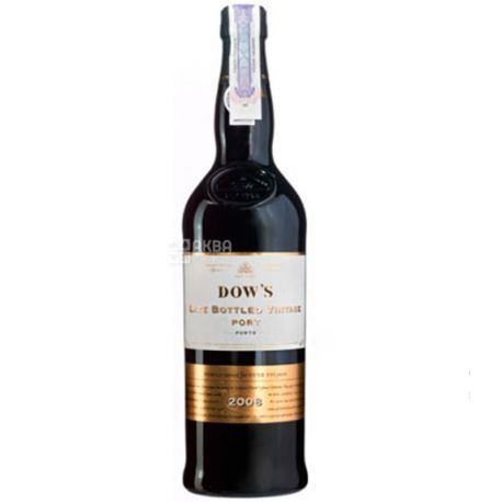 Symington Family Estates, Dow's Late Bottled Vintage, Вино красное, 0,75 л