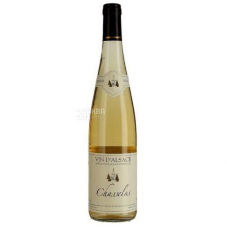 Chasselas Fut de Chene, Вино белое сухое  0,75 л