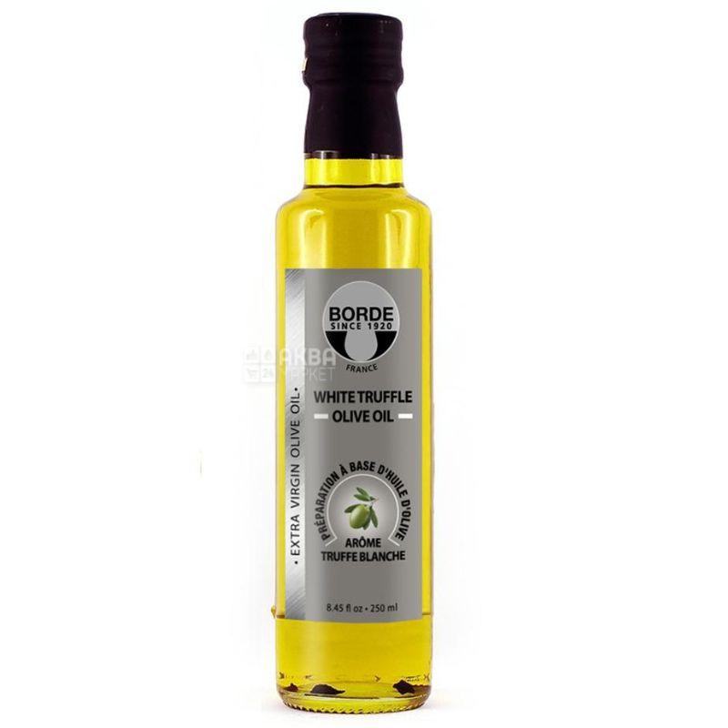 Borde Extra Virgin, Масло оливковое с белым трюфелем, 0,25 л