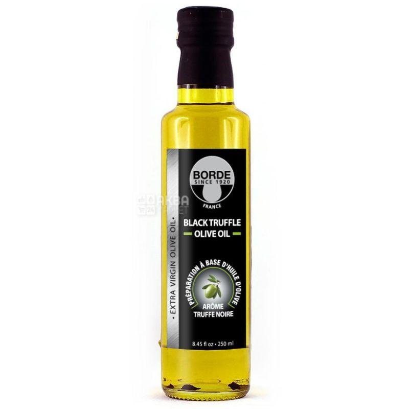 Borde Extra Virgin, Масло оливковое с черным трюфелем, 0,25 л