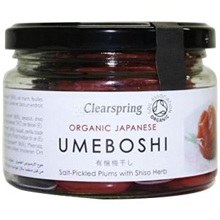 Clearspring, Marinated Plums, Organic Japanese Umeboshi, 200 g