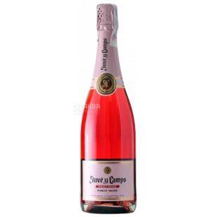 Brut Rose, Juve y Camps, Игристое вино розовое, 0,75 л