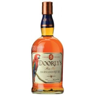 Doorly's, Ром пятилетний, 0,7 л