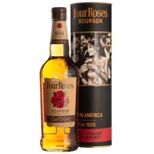 Four Roses, Bourbon Whiskey, 40%, 0.7 L, Tube