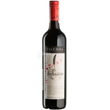 Yalumba, Вино красное сухое The Scribbler Cabernet Sauvignon Shiraz 2014, 0,75 л
