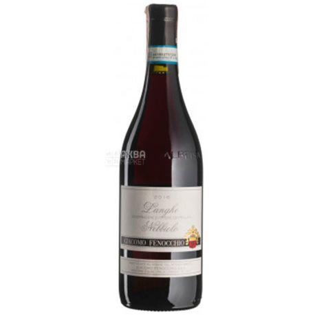Langhe Nebbiolo 2016, Giacomo Fenocchio, Вино красное сухое, 0,75 л