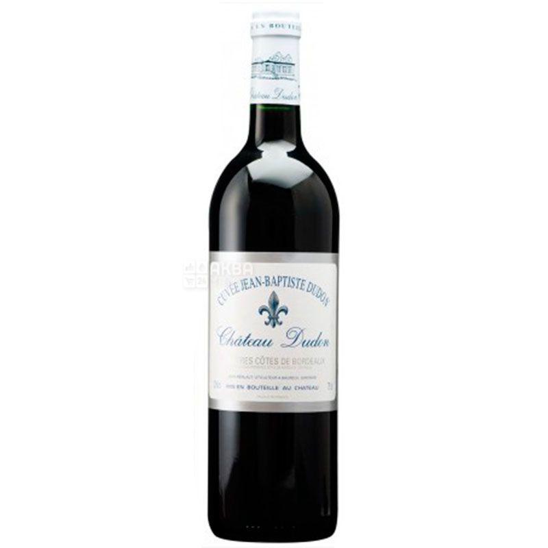 Cuvee Jean-Baptiste Dudon 1999, Chateau Dudon, Вино красное сухое, 0,75 л