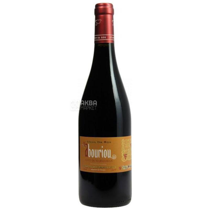 Abouriou 2016, Elian Da Ros, Вино красное сухое, 0,75 л