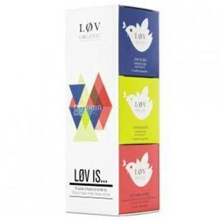 LØV Organic, Подарочный набор чая Løv is, фрукты, пакетированный, 18 шт. *2,2 г