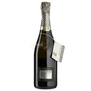 Bortolomiol, Sparkling white brut wine Ius Naturae Valdobbiadene, 11.5%, 0.75 l