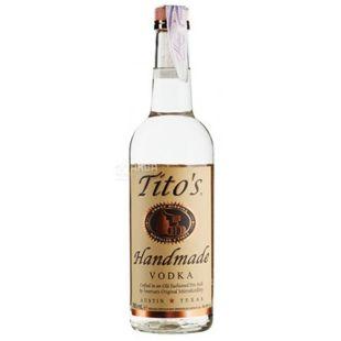 Tito's Handmade Vodka, Водка, 0,7 л