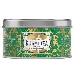Kusmi Tea, Spearmint, 125 г, Чай Кусми Ти, Мята, зеленый, ж/б