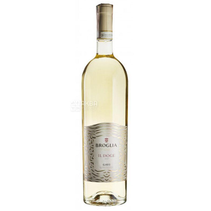 Broglia, Вино белое сухое, Gavi il Doge, 1,5 л