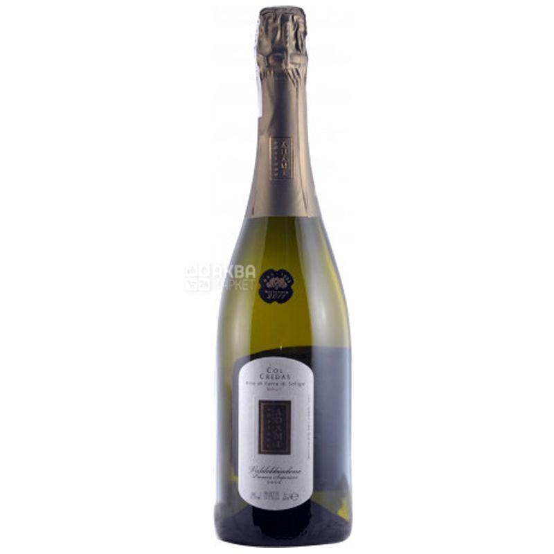 Adriano Adami, Col Credas Prosecco Valdobbiadene Superiore, Вино белое брют, 0,75 л