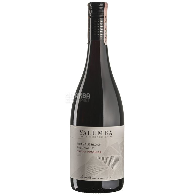 Triangle Block Shiraz Viognier 2013, Вино красное сухое, 0,75 л