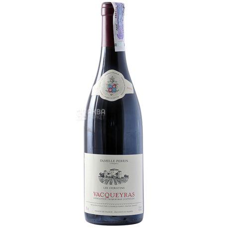 Famille Perrin, Vacqueyras Les Christins Rouge, Вино красное сухое, 0,75 л